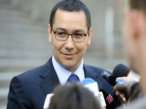 Ponta: Am pus pe masa Parlamentului un cod foarte bun; sunt convins că va fi votat