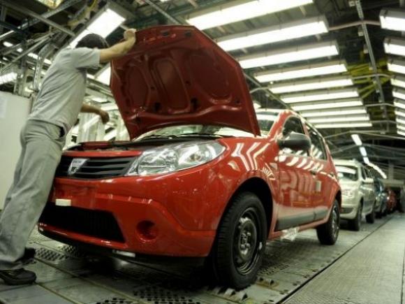 Vânzările de autoturisme Dacia în UE au crescut cu 7,4% în ianuarie