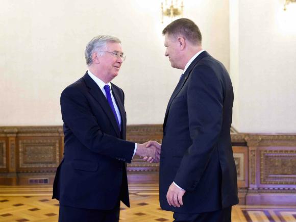 Exerciţiile militare româno-britanice vor deveni o practică regulată