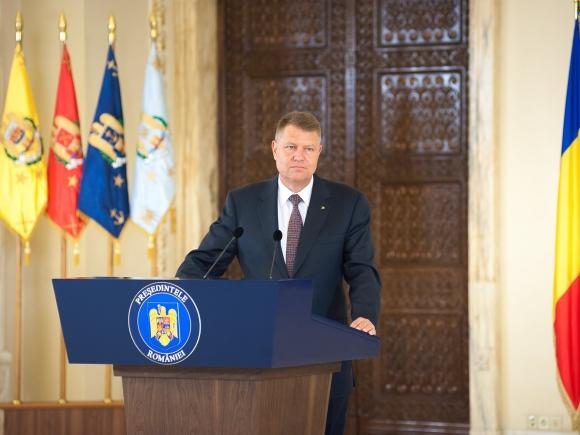 Iohannis: Suntem hotărâți să sprijinim drumul european al Republicii Moldova