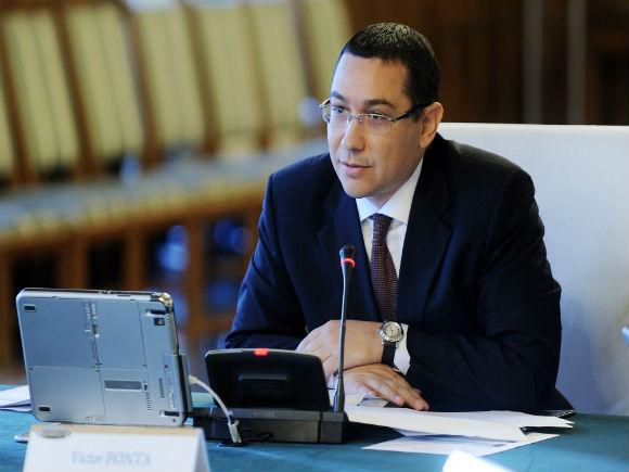 Ponta: Guvernul adoptă reglementarea privind activitatea de control a ANAF