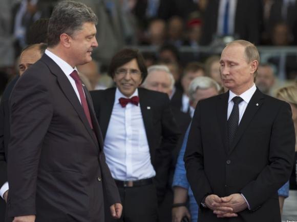 Poroşenko şi Putin, acord parțial privind criza din Ucraina