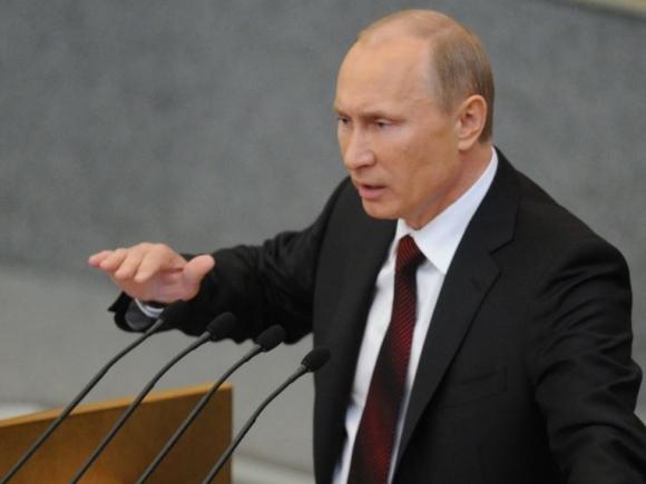 Putin acuză Occidentul că a provocat criza din Ucraina