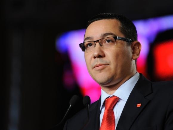 Ponta: Sper că de luni, minţile lucide din PNL vor înţelege USL trebuie dus la capăt
